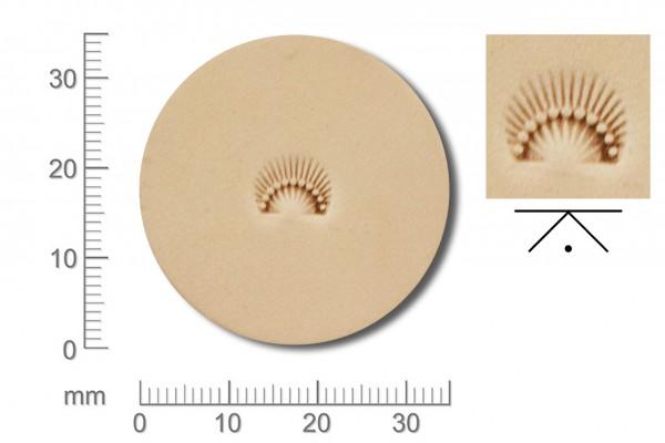 Rickert - Punziereisen / Prägewerkzeug D606 ( 2d-09 )