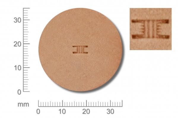 Punziereisen / Prägewerkzeug / Lederstempel X811 ( D II-08 )