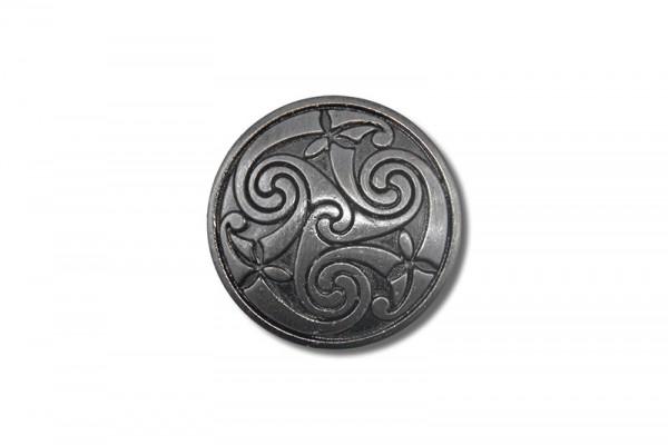 Concho, Celtic Spiral 1 (antik silber)