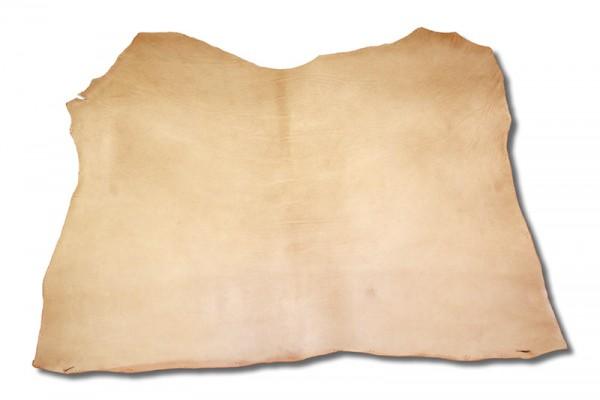 Leder - Walkleder mit Spiess natur (2,5 mm - 2,8 mm) 1,6 m²