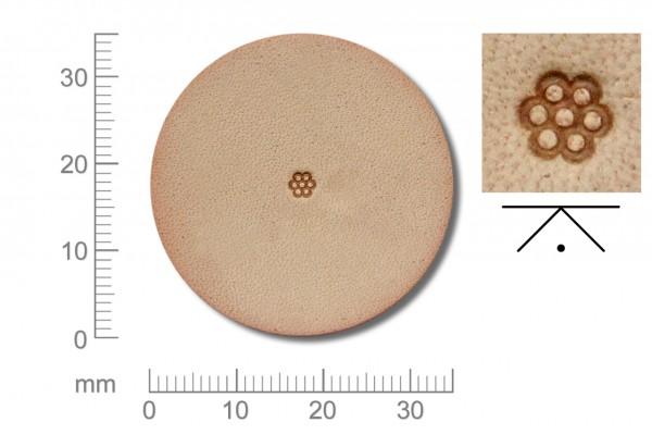 Rickert - Punziereisen / Prägewerkzeug A103 ( 2a-03 )