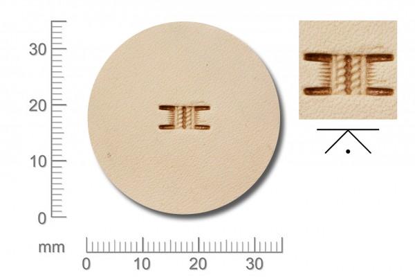 Rickert - Punziereisen / Prägewerkzeug X570-2 (2e-03)