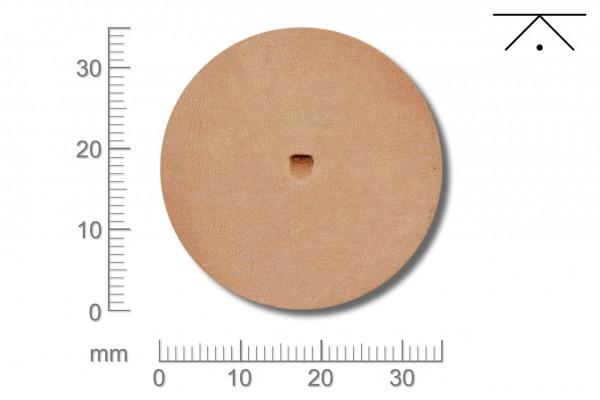 Rickert - Punziereisen / Prägewerkzeug B935 ( 2a-12 )