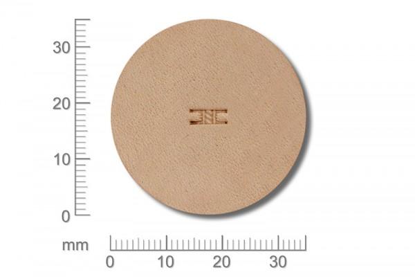 Punziereisen / Prägewerkzeug / Lederstempel X812 ( D III-16 )