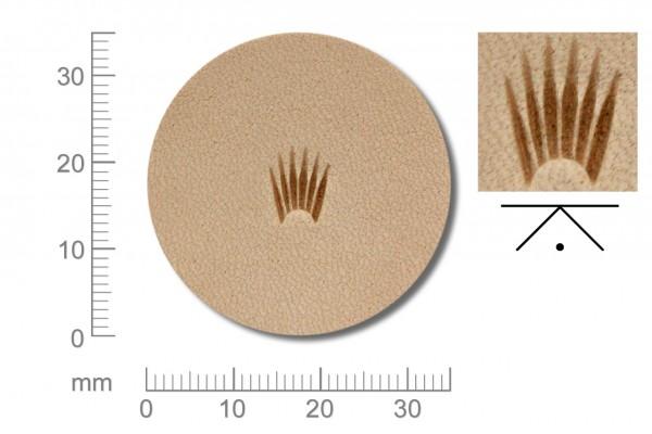 Rickert - Punziereisen / Prägewerkzeug C366 ( 2a-18 )