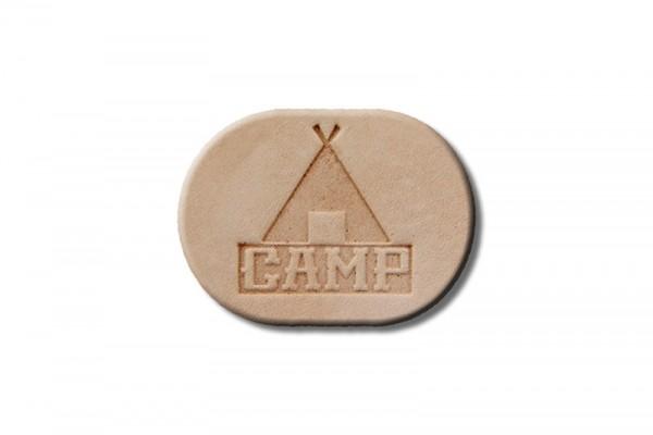 "Punzieraufsatz / Lederstempel ""Camp"""