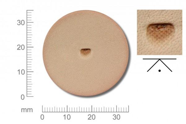 Rickert - Punziereisen / Prägewerkzeug B701-F ( 2a-13 )