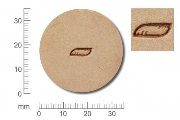 *Punziereisen / Prägewerkzeug / Lederstempel R956 ( Bä-02 )