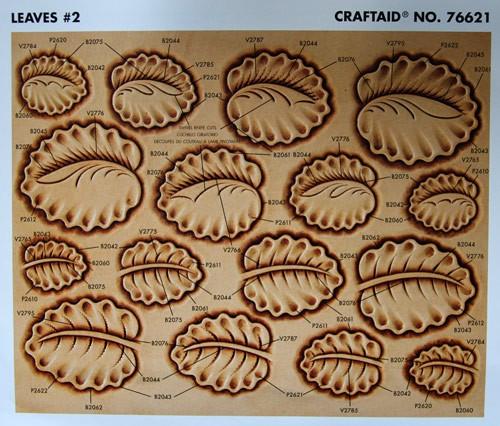 "Craftaid / Schablone ""Leaves #2"""