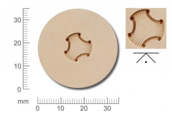 Rickert - Punziereisen / Prägewerkzeug X581 (2e-01)