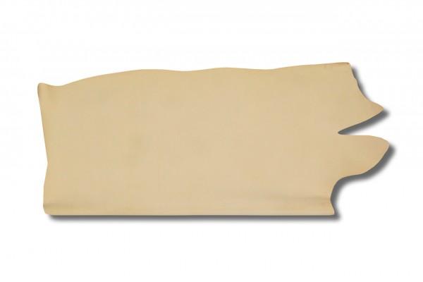 Leder - halber Croupon natur (2,6 - 2,8 mm) 1,03 m²