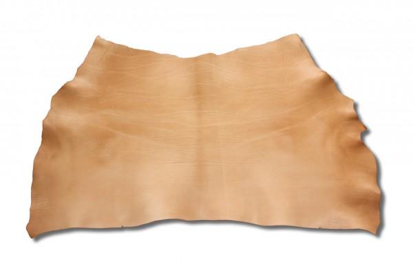 Blankleder mit Fahlleder-Fettung, natur (3,8 mm - 4,0 mm) 1,24 m²
