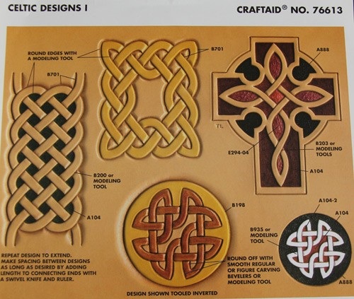 "Craftaid / Schablone ""Celtic Designs I"""