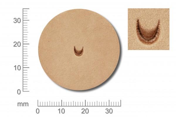 Punziereisen / Prägewerkzeug / Lederstempel U851 ( S III-05 )