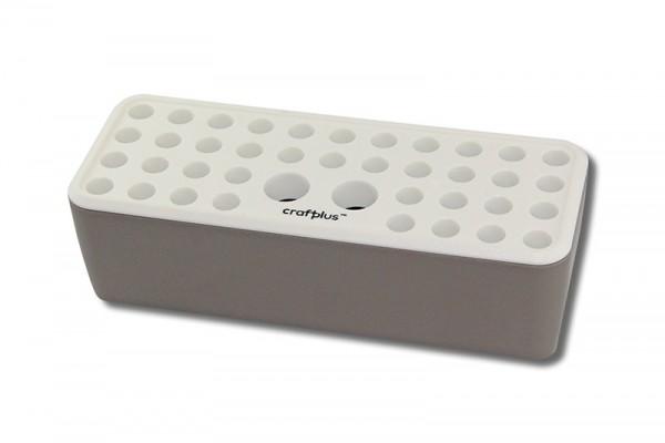 Werkzeugblock / Punziereisenblock aus Kunststoff