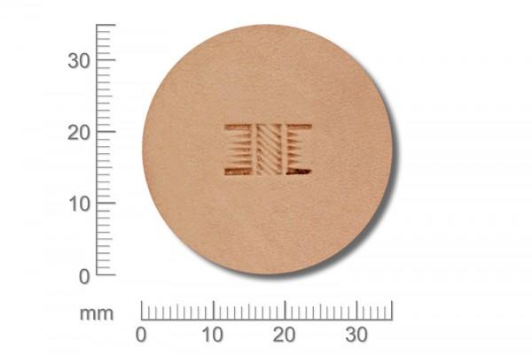 Punziereisen / Prägewerkzeug / Lederstempel X510S ( D II-06 )