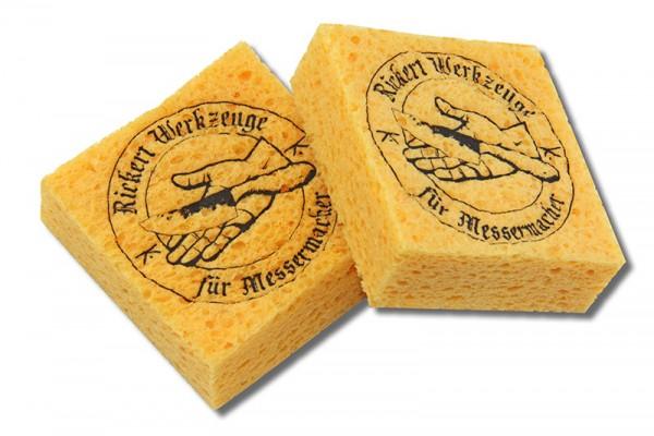 Färbeschwämmchen aus Viskose (Quellschwamm) – Packung á 2 Stück