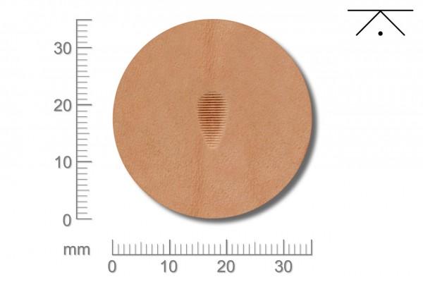 Rickert - Punziereisen / Prägewerkzeug P211 ( 2b-15 )