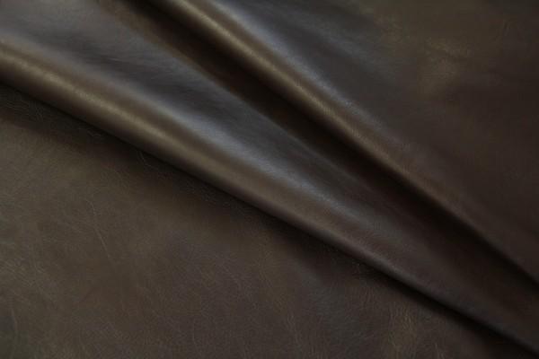 Ziegen - Futterleder (dunkelbraun / 1,1 - 1,3 mm) 0,61 m²