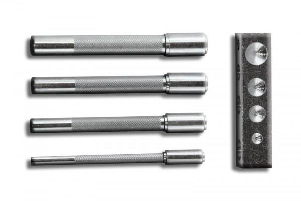 Universal - Einsetzwerkzeug für runde Ziernägel