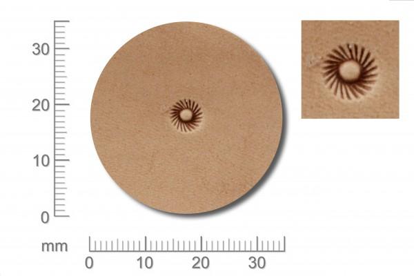 Punziereisen / Prägewerkzeug / Lederstempel S348 ( D V-12 )