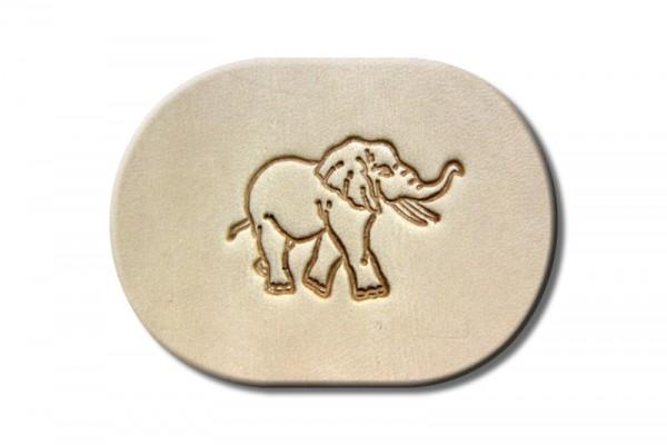 "Punzieraufsatz / Lederstempel ""Elefant"""