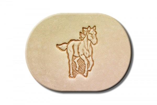 """Punzieraufsatz / Lederstempel """"Pferd galoppierend"""""""