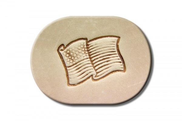 "Punzieraufsatz / Lederstempel ""USA Flagge"""