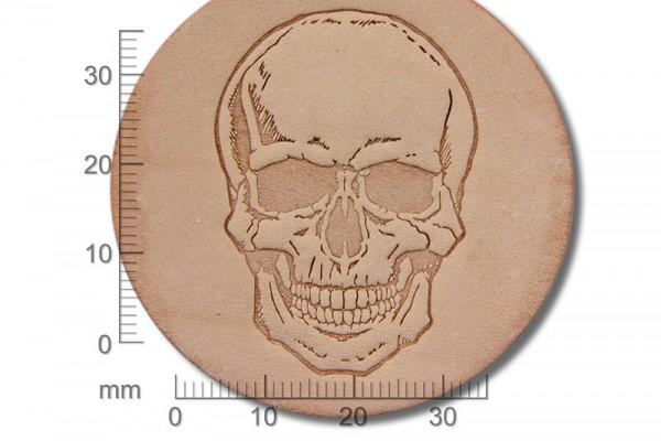 Sergey Neskromniy stamping tool Skull