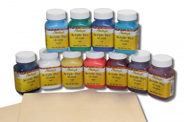Lederfarbe / Fiebing´s Acrylic Dye