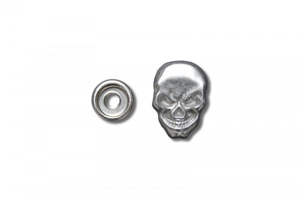 "Druckknopf ""Skull"""