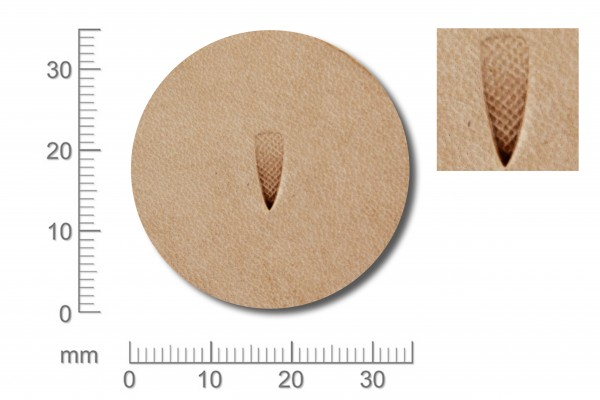 Punziereisen / Prägewerkzeug / Lederstempel A117 ( T-12 )