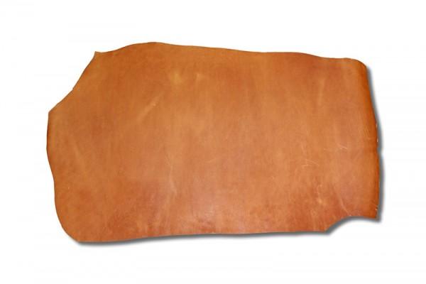 Wasserbüffel Croupon / Cognac (3,2 - 3,4 mm) 0,91 m²