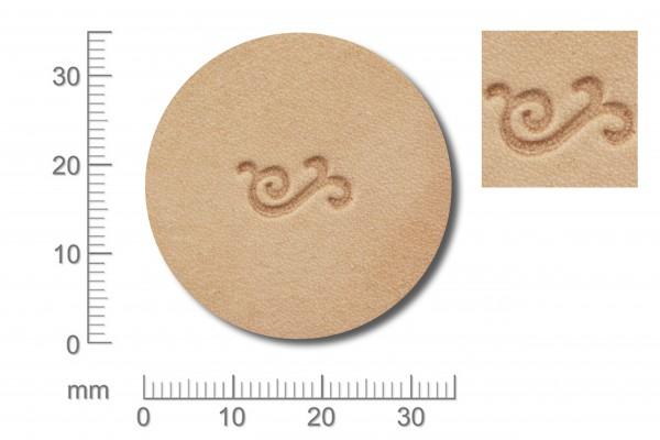 Punziereisen / Prägewerkzeug / Lederstempel 701003 ( D IV-04 )