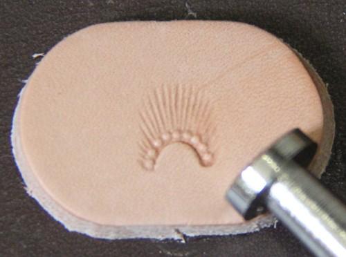 Punziereisen / Prägewerkzeug / Lederstempel N720 ( S-06 )