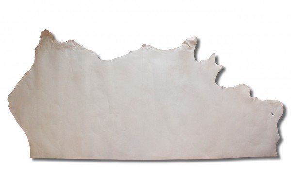 Rinderhälfte / Blankleder natur (2,0 mm - 2,4 mm) 0,84 m²