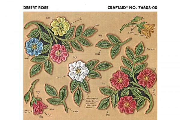 """Craftaid / Schablone """"Desert Rose"""""""
