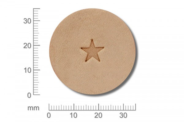 Punziereisen / Prägewerkzeug / Lederstempel O53 ( D III-14 )