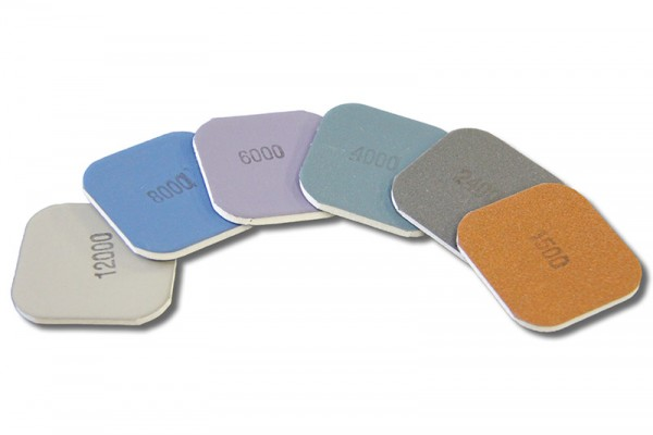 Soft Touch Pads, Micro Mesh, Körnungen 1.500 - 12.000