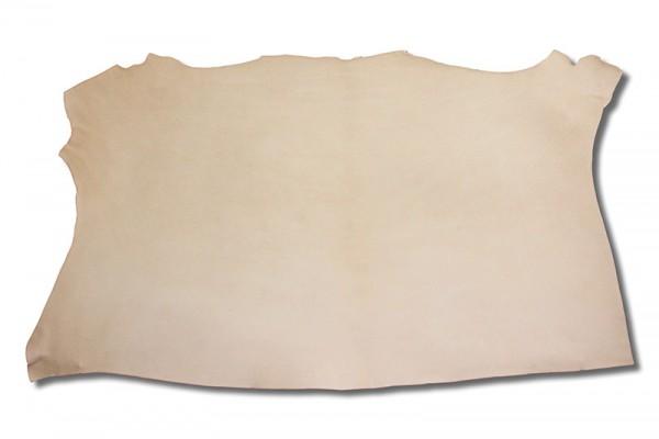 Leder - Blankleder-Hals natur (1,0 mm - 1,3 mm) 1,01 m²