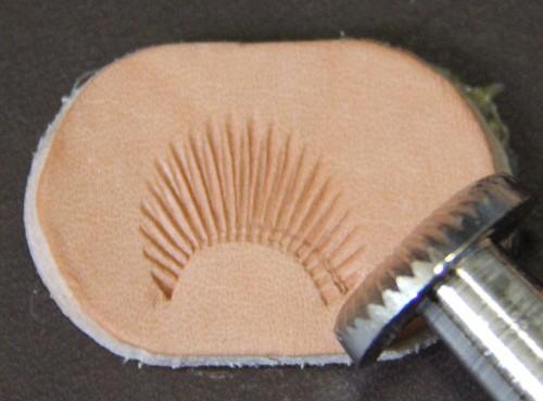 Punziereisen / Prägewerkzeug / Lederstempel C453 ( S-11 )