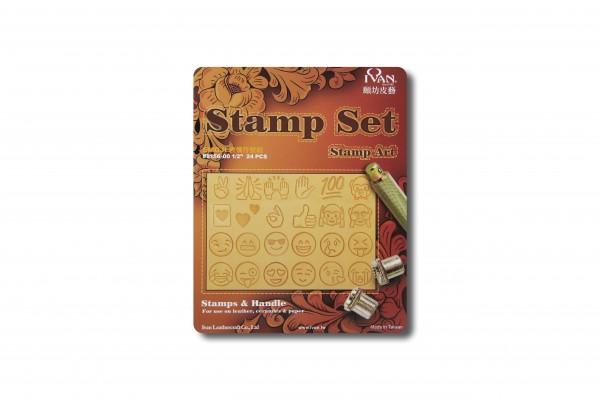 """Stamping tool """"Emoji"""" - Set"""