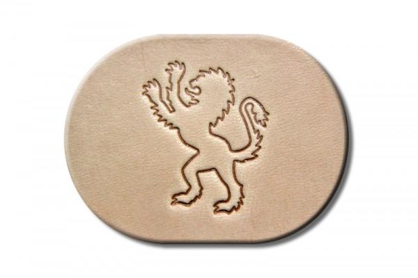 """Punzieraufsatz / Lederstempel """"Löwe stehend links"""""""