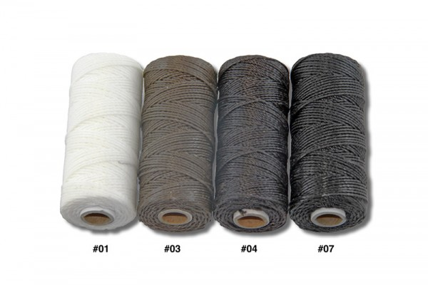 Polyester Ledergarn - Spule (50 m, rund, Ø 0,8 mm)