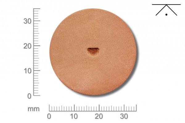 Rickert - Punziereisen / Prägewerkzeug B198 ( 2a-09 )