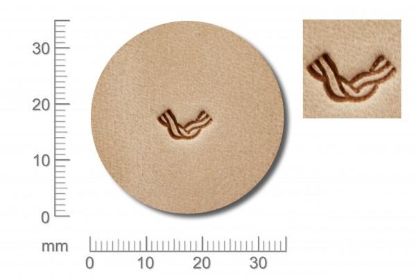 Punziereisen / Prägewerkzeug / Lederstempel BW3-2 ( D IV-07 )