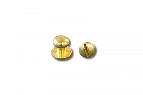Beiltaschenknopf (gold)