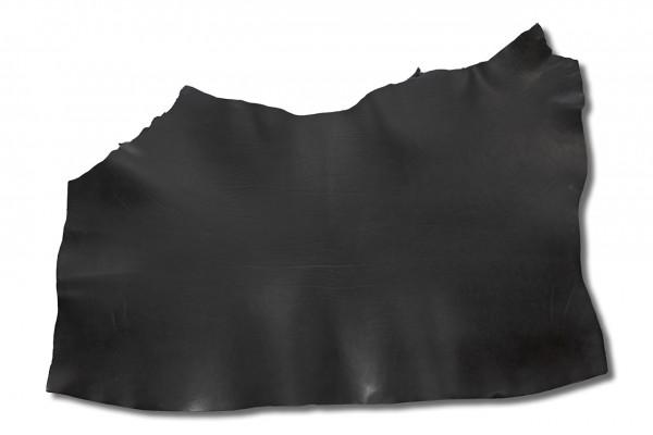 Blankleder mit Fahlleder-Fettung, schwarz (3,3 mm - 3,8 mm) 1,62 m²