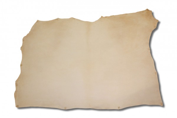 Leder - Blankleder-Hals natur (3,5 - 3,7 mm) 1,25 m²