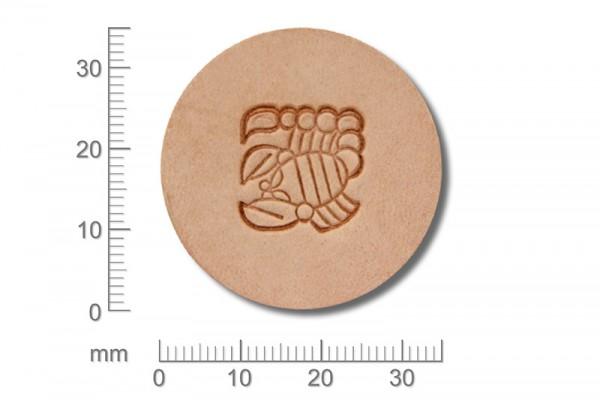 Craft Japan Punziereisen / Prägewerkzeug E693 ( 1t-17 )